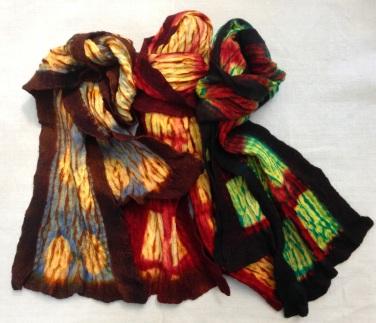 mokume bark scarf